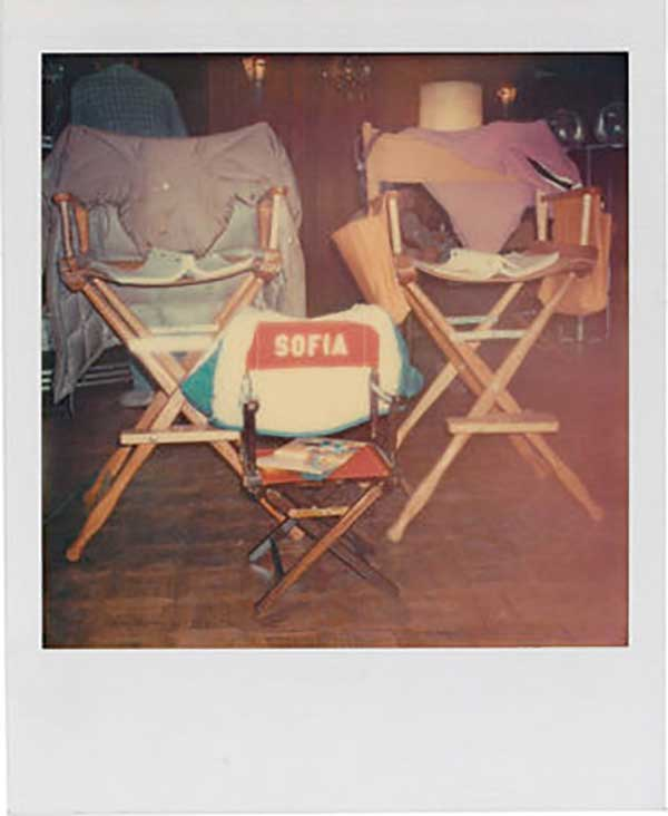 Sofia-Coppolas-own-little-directors-chair-on-the-set-of-The-Godfather-Part-II